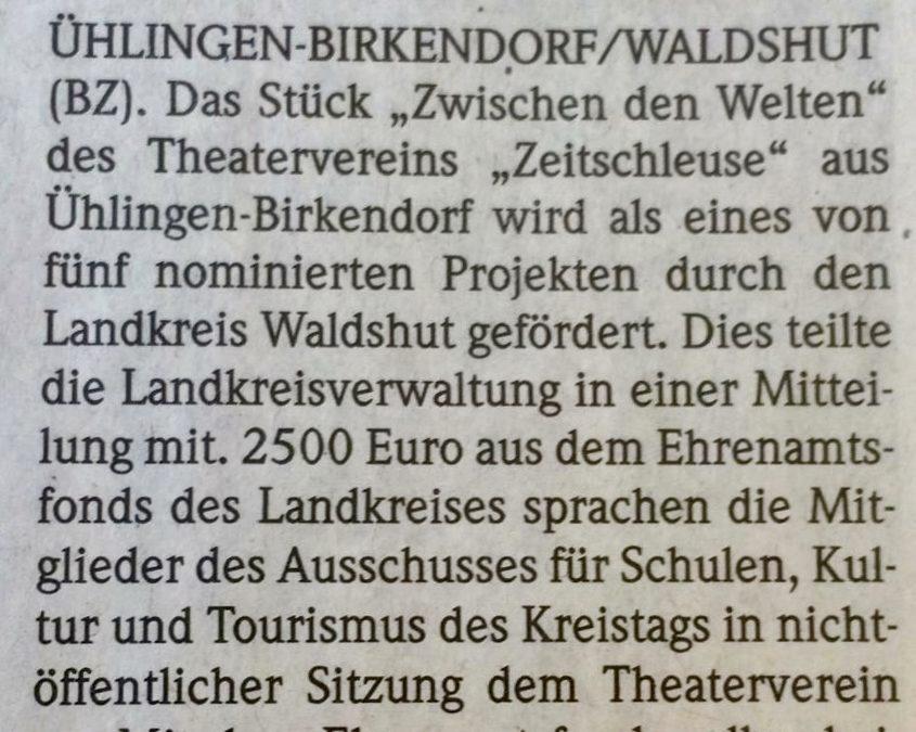 Badische Zeitung, 10. Juli 2019