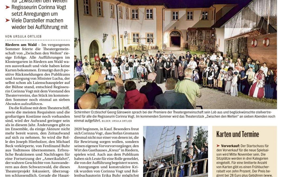 Südkurier, 11. November 2019